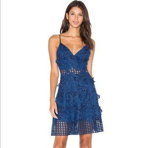 Lovers & Friends size large blue dress